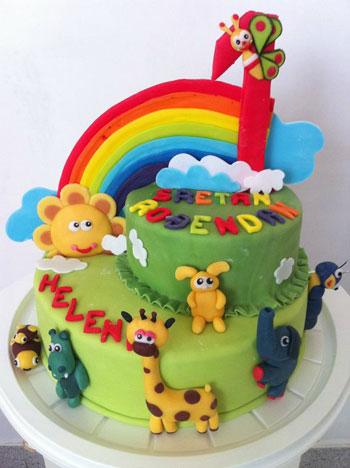 Donosimo vam neke od rođendanskih torti za vaše mališane izrađene