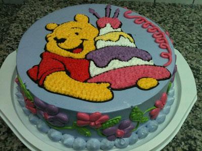 Djecja torta Winnie Pooh