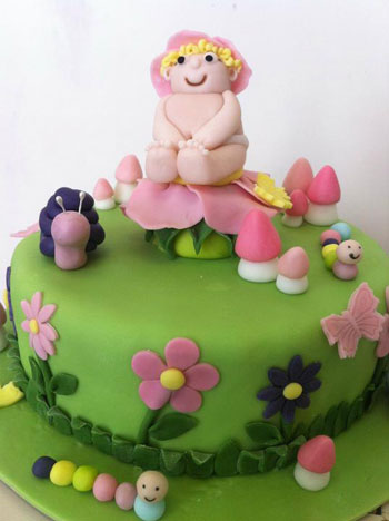 Djecja torta puž