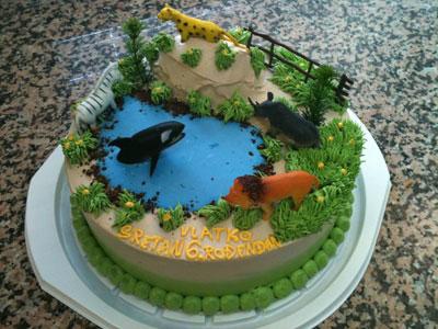 Djecja torta sa životinjama