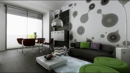 Dnevni boravak i blagovaonica u istom prostoru enski kutak - Common tables for living room to complement the interior design ...