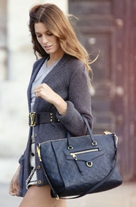Plava torba Louis Vuitton